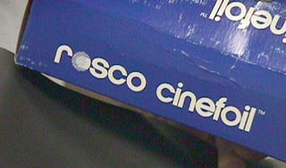 Rosco cinefoil package